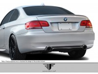Aero Function 07-10 BMW 3 Series Carbon Fiber Rear Lip AF-1 Style