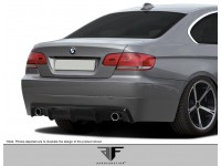 Aero Function 07-10 BMW 3 Series Carbon Fiber Rear Lip AF-2 Style