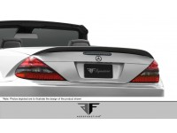 Aero Function 03-12 Mercedes SL - Mercedes Carbon Fiber Wing AF-Signature 1 Series Style