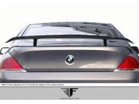 Aero Function 04-10 BMW 6 Series Carbon Fiber Wing AF-2 Style
