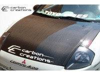 Carbon Creations 00-05 Mitsubishi Eclipse Carbon Fiber Hood OEM Style