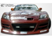 Carbon Creations 04-08 Mazda RX8 Carbon Fiber Front Bumper GT Competition Style