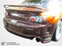 Carbon Creations 04-11 Mazda RX8 Carbon Fiber Rear Bumper GT Competition Style