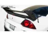Carbon Creations 00-05 Mitsubishi Eclipse Carbon Fiber Wing Shine Style