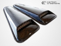 Carbon Creations 05-09 Ford Mustang Carbon Fiber Scoop Racer Style