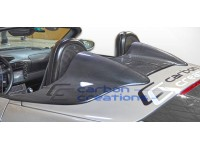 Carbon Creations 97-04 Porsche Boxster Carbon Fiber Tonneau Cover Maston Style