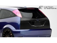 Carbon Creations 00-07 Ford Focus Carbon Fiber Trunk/Hatch OEM Style