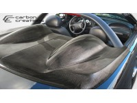 Carbon Creations 94-04 Ford Mustang Carbon Fiber Tonneau Cover KR-S Style