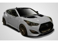 Carbon Creations 12-14 Hyundai Veloster Carbon Fiber Kit GT Racing Style