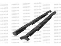 Seibon 08-10 Infiniti G37 4Dr Side Skirts (Pair) NS Style