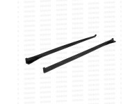 Seibon 08-10 Subaru Sti Hatchback Only Side Skirts (Pair) CS Style