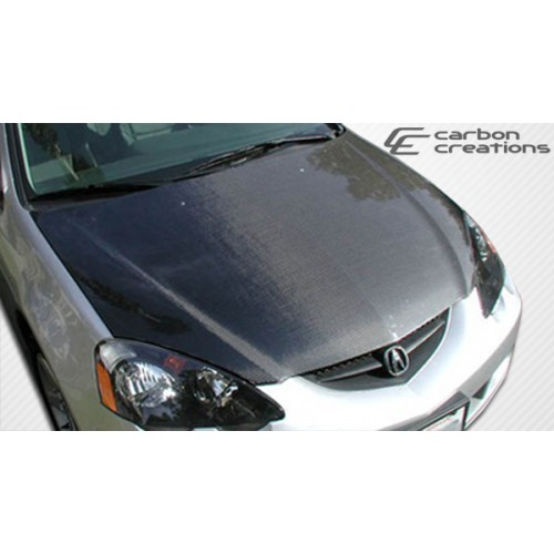 Carbon Creations 02-06 Acura RSX Carbon Fiber Hood OEM Style
