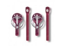 Sparco Universal Hoodpins - Red